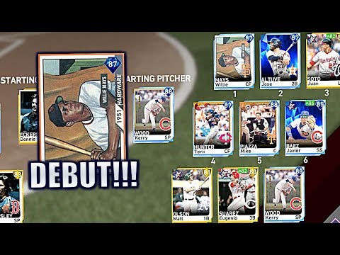 WILLIE MAYS SNAPS! 87 Willie Mays Ranked Debut - MLB The Show 19