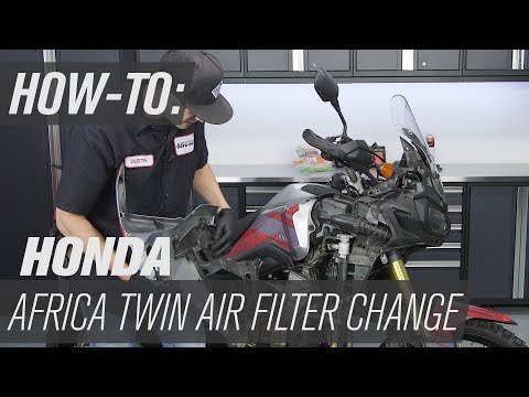 How To Change The Air Filter On A Honda Africa Twin