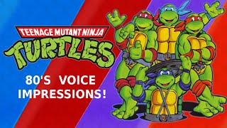 Teenage Mutant Ninja Turtles 80's Voice Impressions