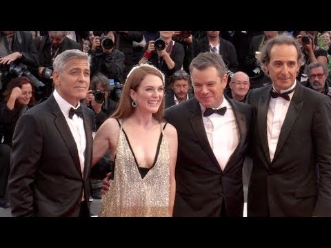George Clooney, Matt Damon and more on the red carpet for the Premiere of Suburbicon