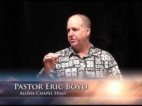 Pastor Helena Corcoran at Aloha Chapel in Hilo, Hawaii