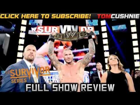 WWE Survivor Series 2013 REVIEW!