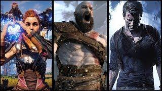 Top 10 Mejores Juegos Exclusivos PS4 (2018)