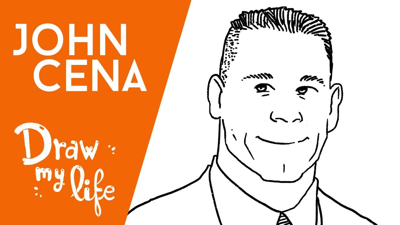JOHN CENA - Draw My Life