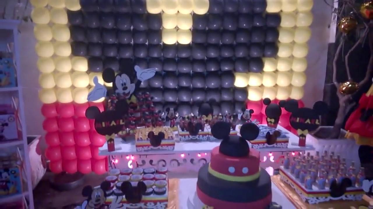 decoracao festa mickey : decoracao festa mickey:DECORAÇÃO FESTA MICKEY 08.2014 HD – YouTube