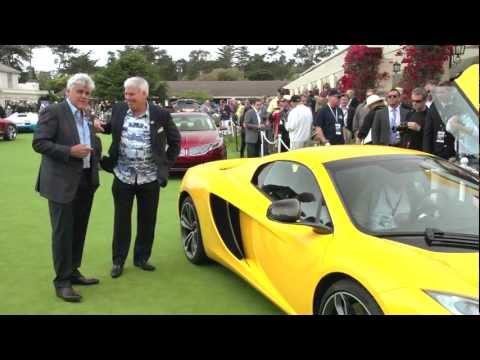Pebble Beach 2012: McLaren MP4-12C Spyder and 12C Can-Am Edition - Jay Leno's Garage