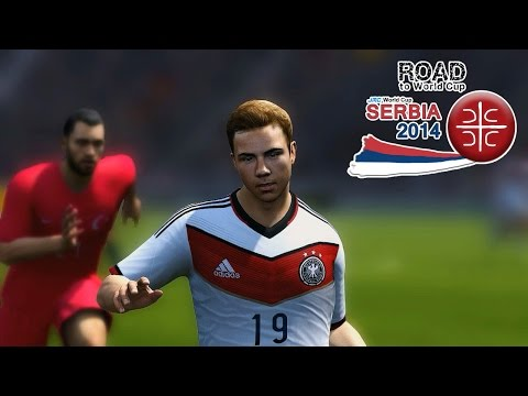 Germany Vs. Turkey | Road To World Cup Serbia 2014 | FIFA 14