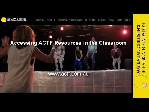 Professional Learning Webinar – Accessing ACTF Resources in the Classroom