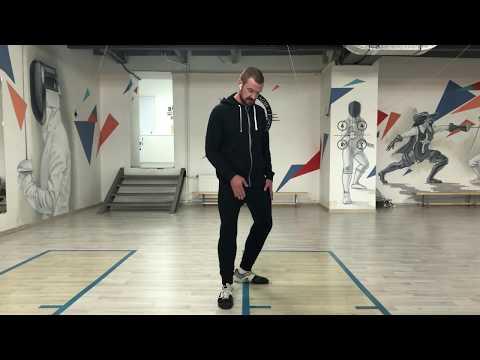 Обучение фехтованию. Урок №1 Стойка и шаги