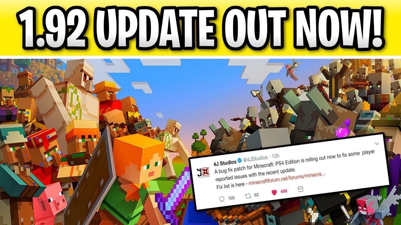 minecraft update ps4 june 2019