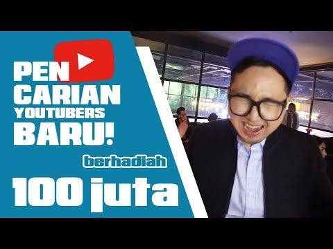 MENCARI YOUTUBERS BARU + GIVEAWAY 100JT !! BUKAN CLICKBAIT