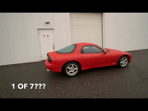 SCOOPED A NEW FD RX7! (1 OF 7!!!)