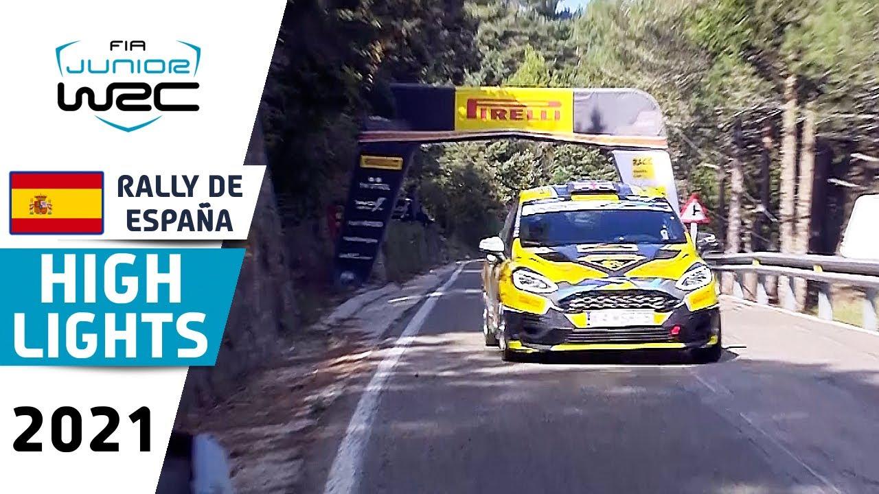 Junior WRC Highlights Day 1: WRC RallyRACC - Rally de España 2021