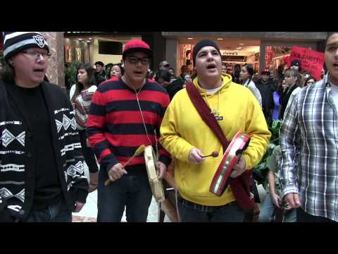 Idle No More Flash Mob Masonville Place London ON