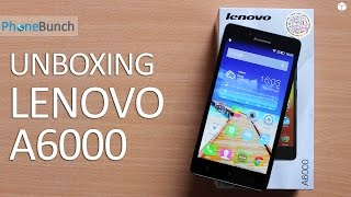 Lenovo A6000 Unboxing and Quick Review: Cheapest 4G LTE Smartphone