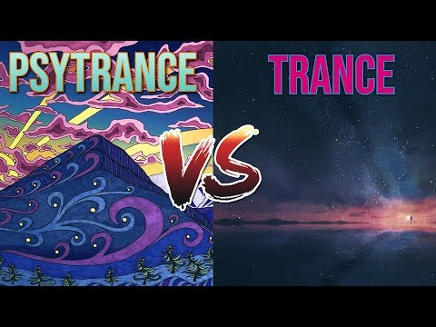 ॐ Psytrance VS Trance ॐ
