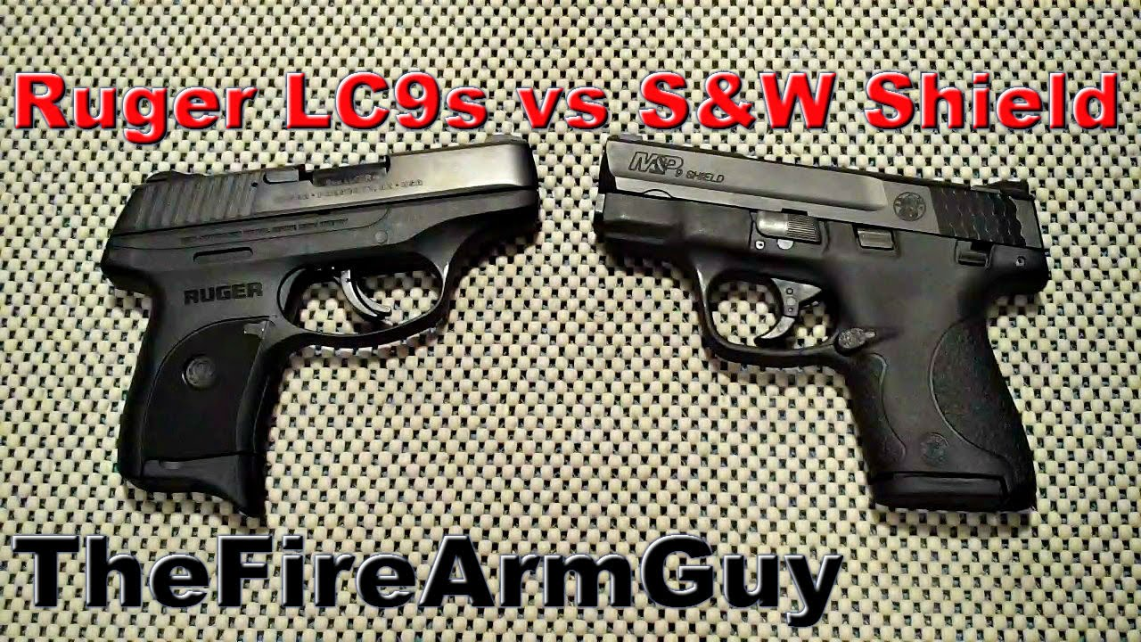 Ruger Lc9s Vs S Amp W M Amp P Shield