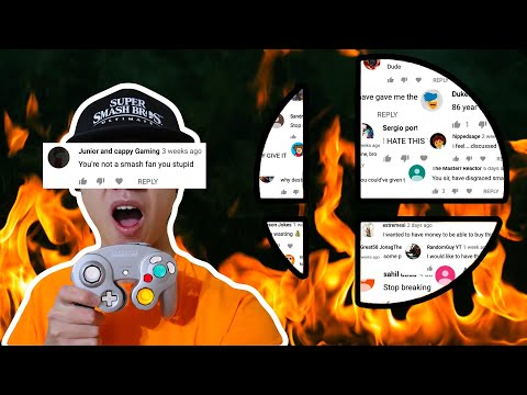 HATE COMMENTS - SMASH BROS. FANBOYS