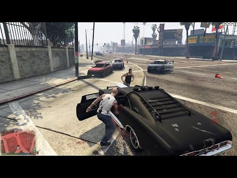 FAST & FURIOUS 8 CON WILLY EN GTA V!