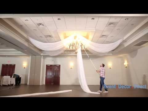 Prefabricated Ceiling Drape Kits Instructional Video