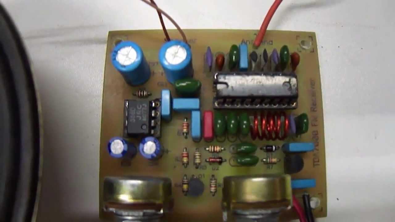 Tda7000 Fm Radio Receiver Circuit