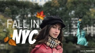 🍂Fall in New York- Central Park, Joes Pizza, Parade & Shopping!