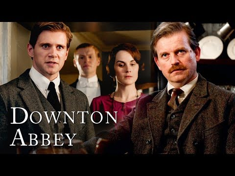 Family Tension Is On The Rise By Baby Sybil's Christening | Downton Abbey