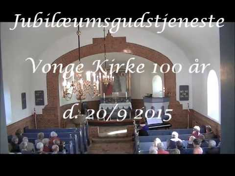 Jubilæumsgudstjeneste i Vonge Kirke