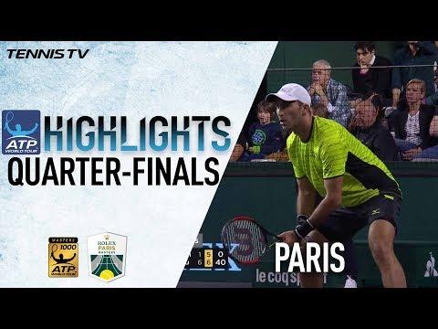 Doubles Highlights: Rojer/Tecau Beat Bryan/Bryan In Paris 2017