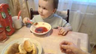 Суп с омулем.3gp