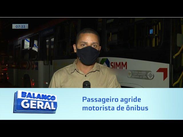 Agressão no ônibus: Passageiro se nega a usar máscara de proteção e briga com motorista