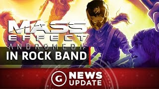 Mass Effect: Andromeda Invades Rock Band 4 With New Items - GS News Update