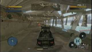Full Auto Xbox 360 Gameplay - Tow Truck Destruction
