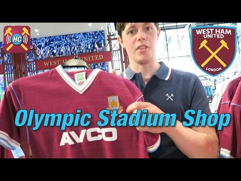 Club Shop Tour | All access | Unseen footage | Olympic Stadium West Ham