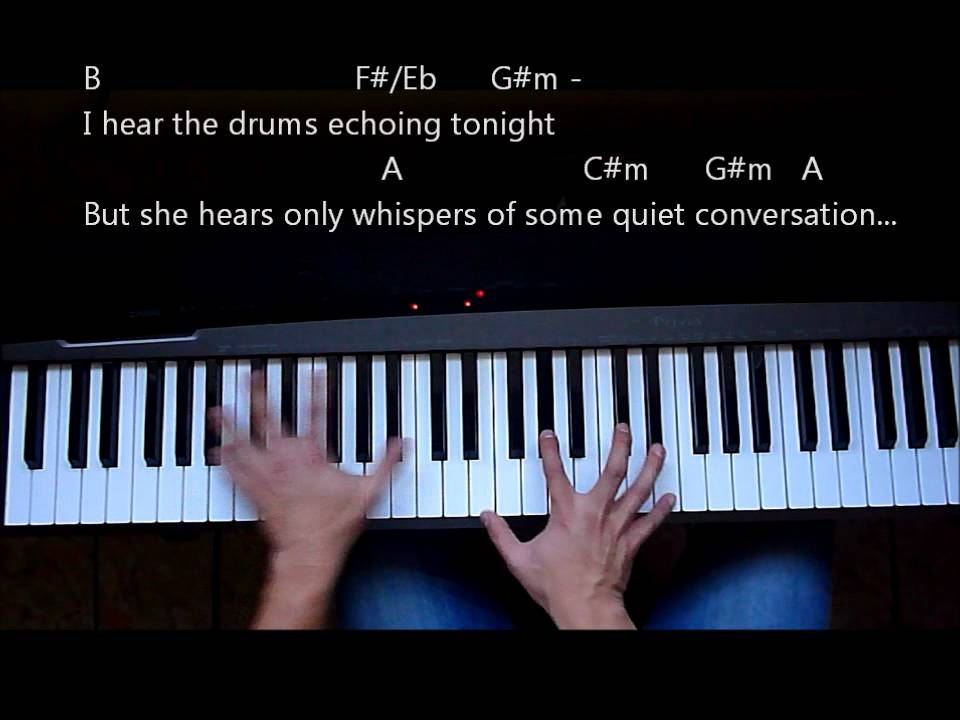 Videotutorial Piano Africa Toto Youtube