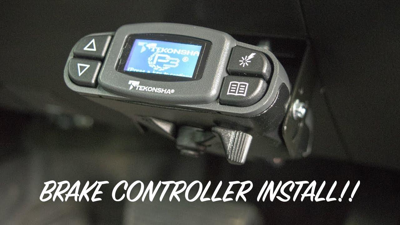 Tekonsha Prodigy P3 Brake Controller Install Youtube Wiring