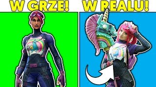 FORTNITE SKINS IN REAL LIFE + COMPETITION FOR V-DOLCE * WOW *