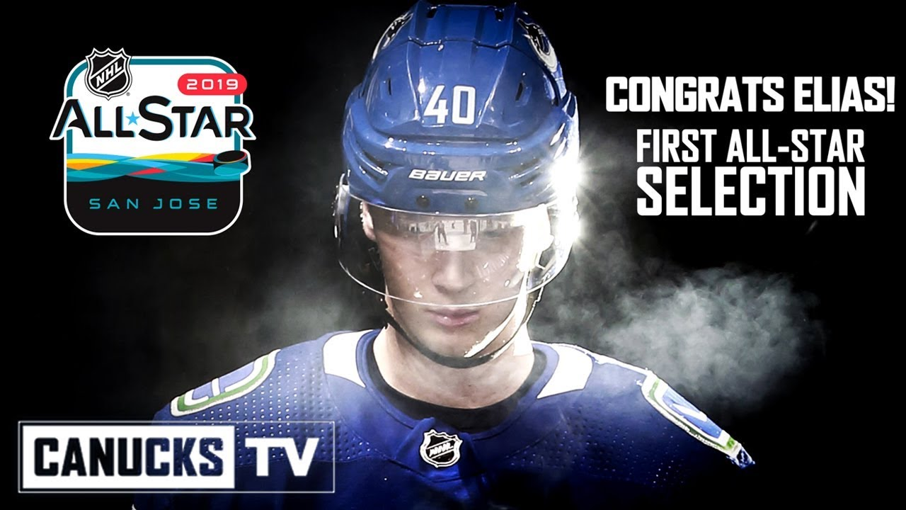 d1f0704ab65 Elias Pettersson to Represent Canucks at 2019 NHL All-Star Weekend ...