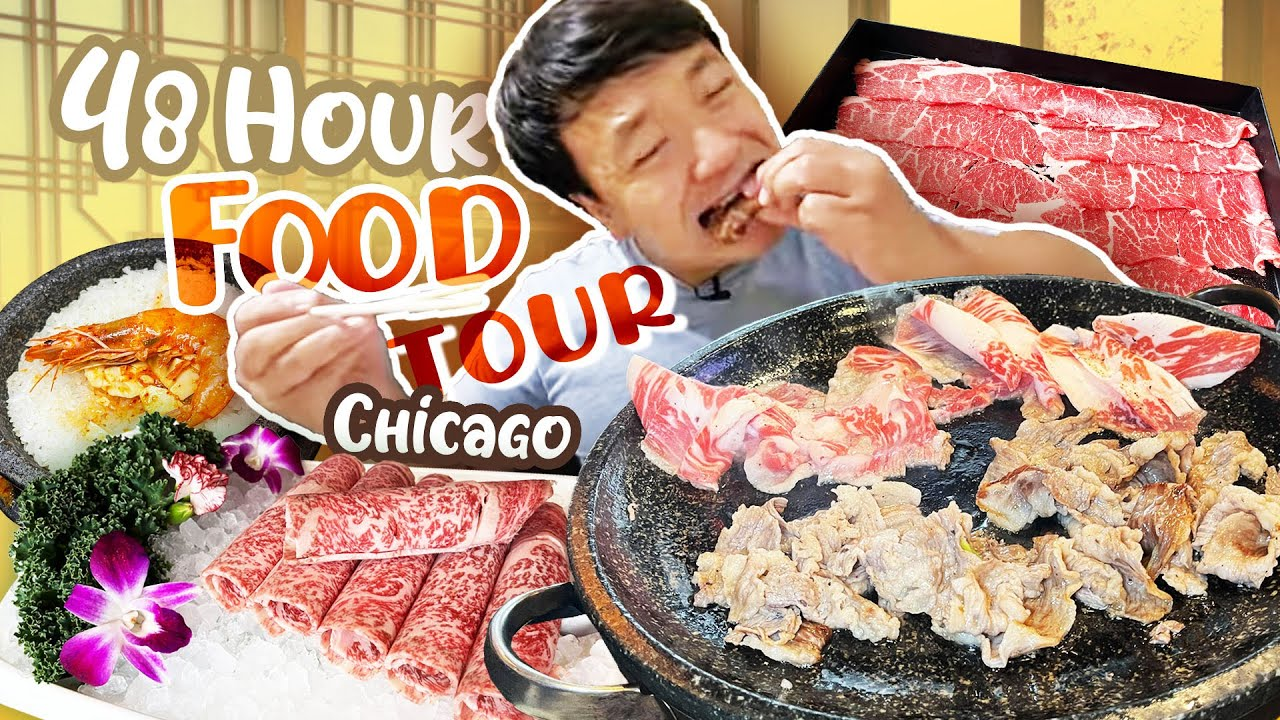 Chicago KOREAN BBQ, FRIED CHICKEN & Portillo's HOT DOGS | 48 Hour Chicago FOOD TOUR