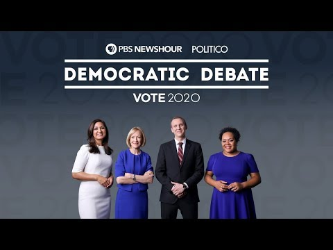 6th Democratic Debate hosted by PBS NewsHour and Politico