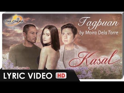 Tagpuan Lyric Video | Moira Dela Torre | Official Theme Song | 'Kasal'