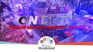 the most beautiful emergency vehicles in miniatur wunderland