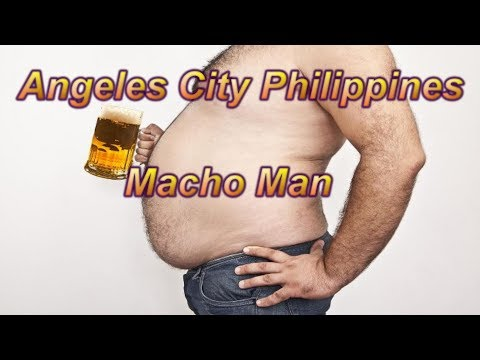 Angeles City Philippines : Macho Man