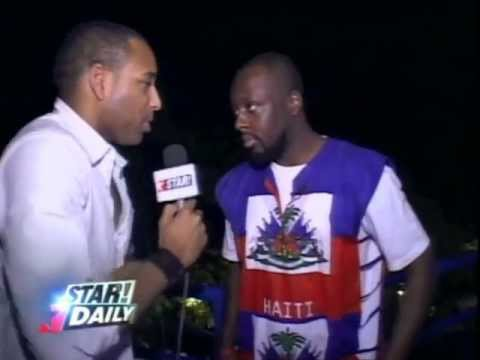 STAR! DAILY - IN HAITI WITH WYCLEF JEAN
