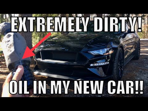 1st Oil Change in my New 2018 Mustang plus Big News!!!