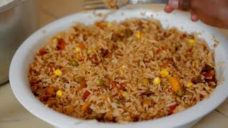 How to Cook Vegetable Rice