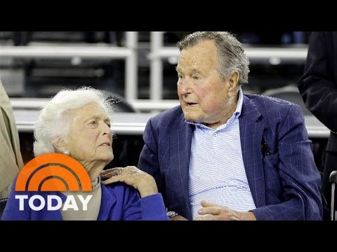 George H.W. Bush Moved To Intensive Care, Barbara Bush Also Hospitalized | TODAY