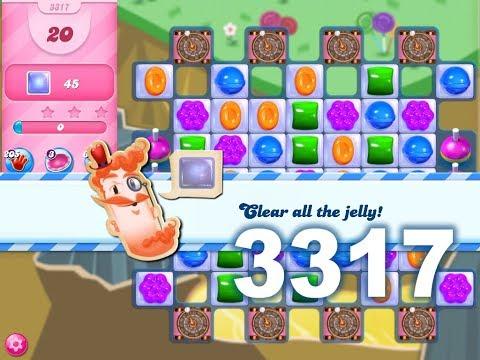 Candy Crush Saga Level 3317 3 stars, No boosters