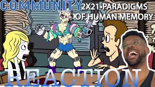 Community REACTION 2x21 Paradigms of Human Memory