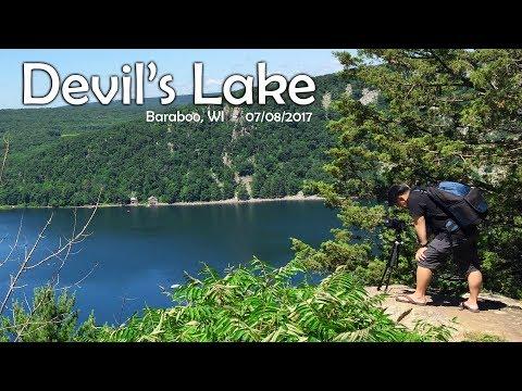 SUAB HMONG TRAVEL:  Taug kev nce roob rau ntawm Devil's Lake – Hiking at Devil's Lake, Wisconsin